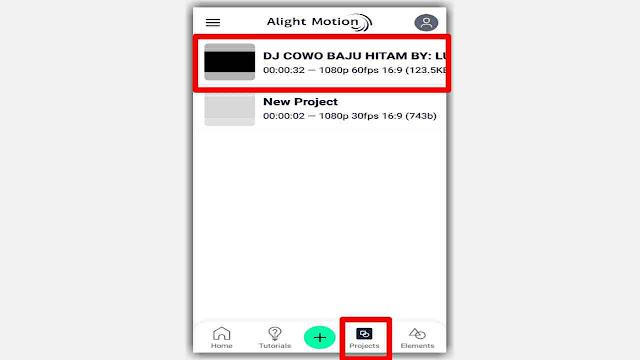 Cara Memasukkan Import Preset XML di Alight Motion