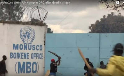 Angry Protesters Storm UN Camp In DRConga After Deadly Attack