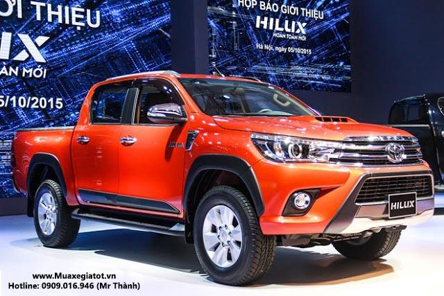 Toyota Hilux 2016 đang chật vật để tìm lại vị trí của mình như trước đây