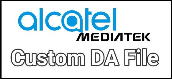 alcatel smartphone da and auth files