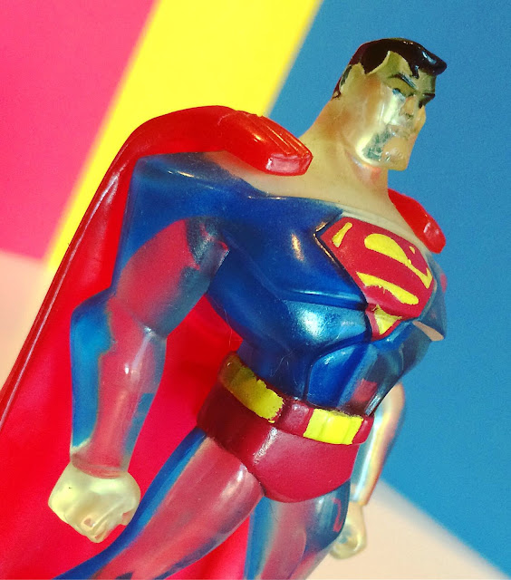 Translucent Justice League Superman