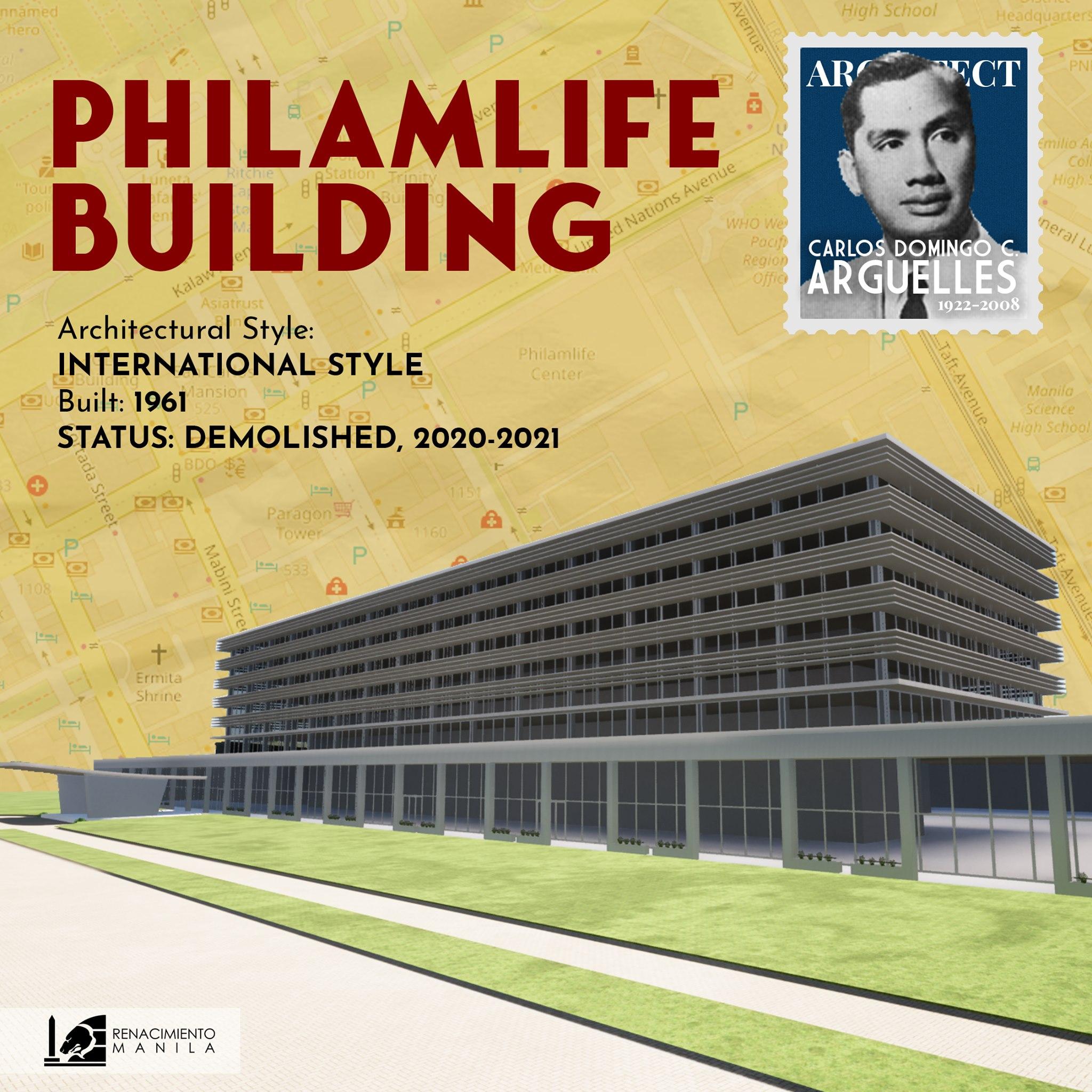 Philamlife Building - Carlos Arguelles (1917-2008)