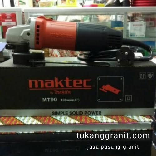 Mesin Gerinda Maktec MT90 Setelah Menggunakan 3 Tahun