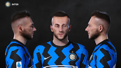 PES 2021 Faces Marcelo Brozovic by Prince Hamiz