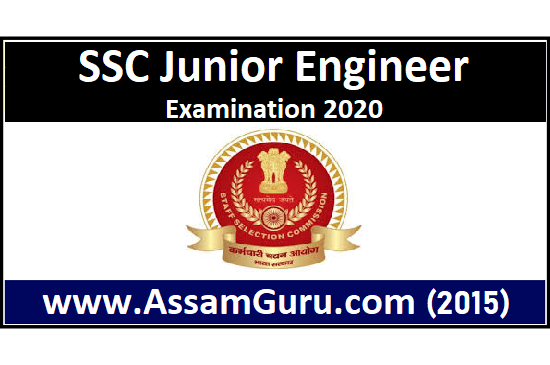 SSC Junior Engineer Examination 2020