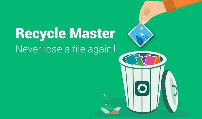 Rekomendasi Aplikasi Recycle Bin Terbaik tuk Android - Recycle Master