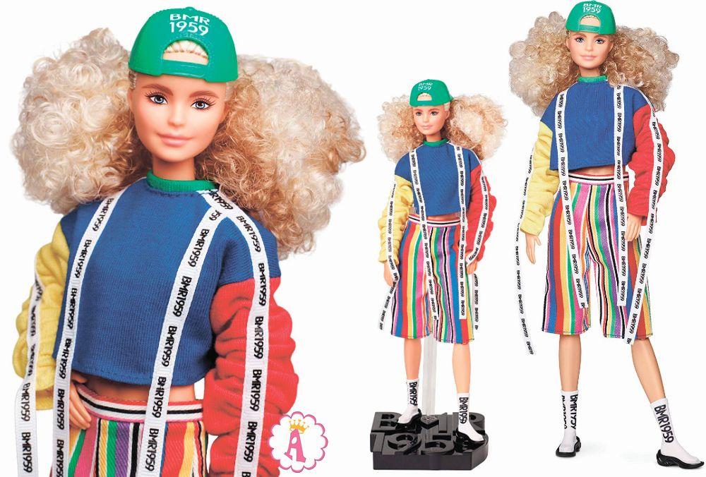 Прайд парад Барби Millie с кучеряшками Barbie BMR1959