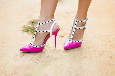 scarpin rosa la opera