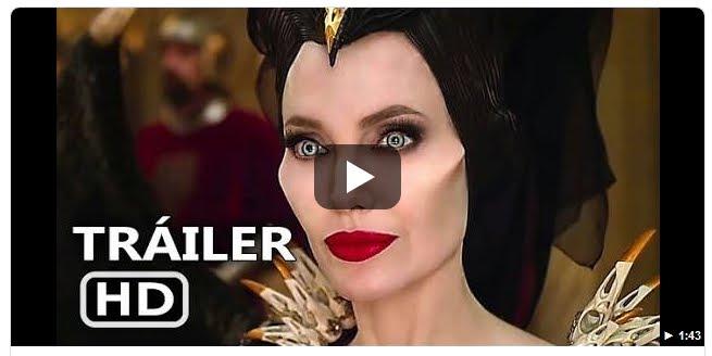 """Angelina Jolie appare nel trailer del nuovo film """"Maleficent Signora del male""""."""
