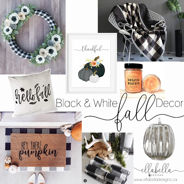 8 Black and White Plaid Fall Finds