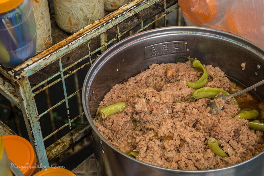 Freshly cooked ginataang santol