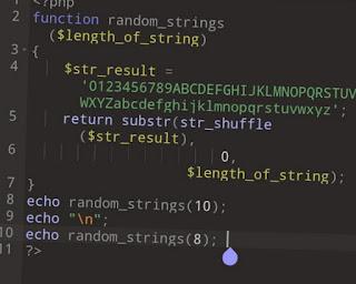 Cara Membuat Random String Alfanumerik di PHP