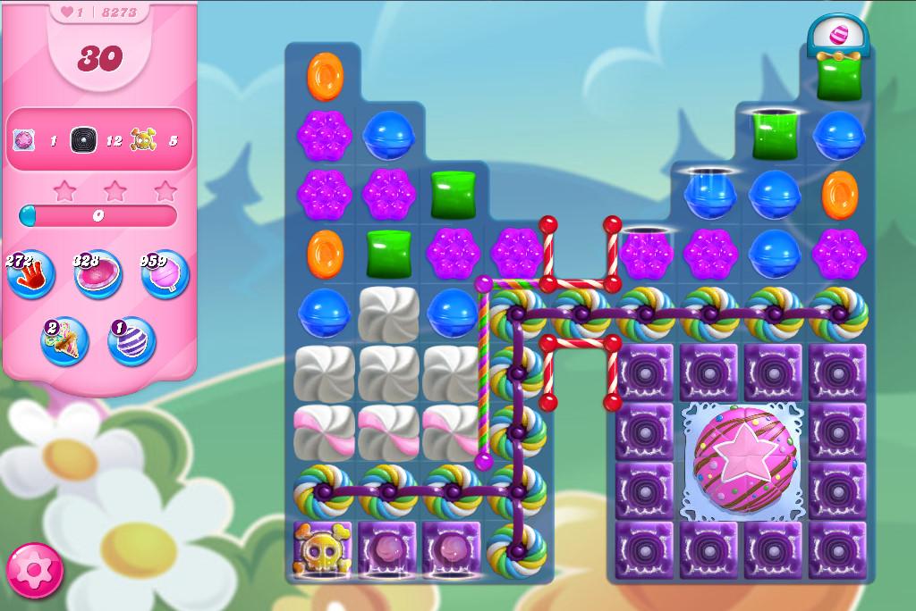 Candy Crush Saga level 8273
