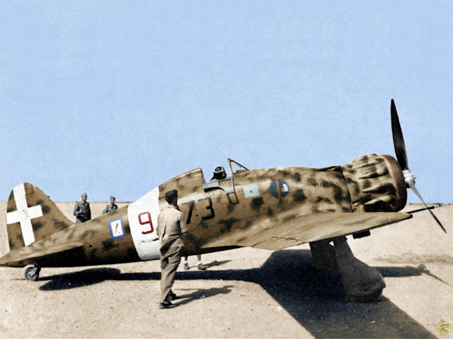 Macchi MC.200 Color photos World War II worldwartwo.filminspector.com