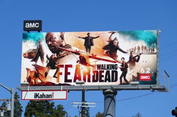 Fear the Walking Dead season 5 billboard