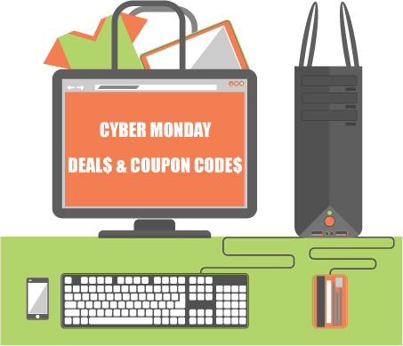 539e4a3ef0a Planning to do a little shopping this Cyber Monday? Here are a few codes  and deals you can use while shopping.