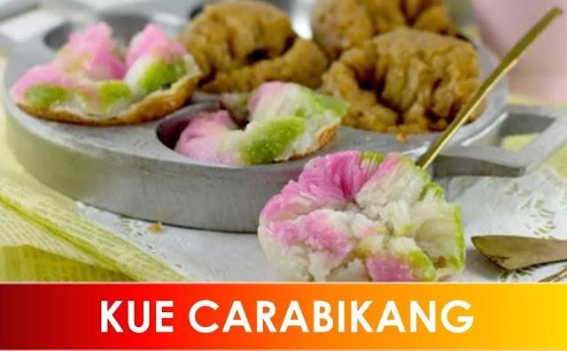 Kue Carabikang, Resep Carabikang Kue Tradisional Legendaris