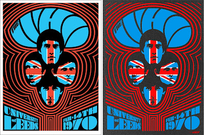 "The Who ""Live at Leeds"" 50th Anniversary Screen Print by Ames Bros x Collectionzz"