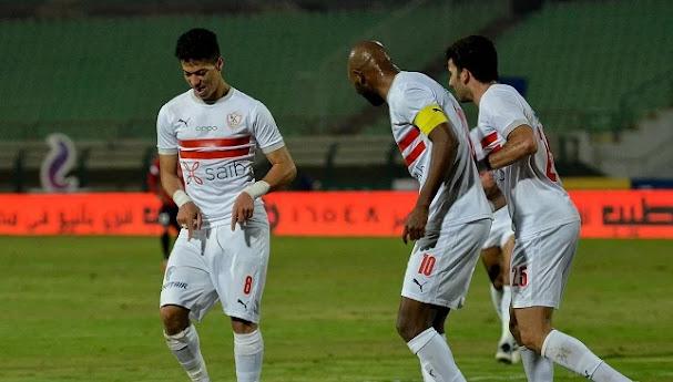 ملخص مباراة الزمالك والمصري البورسعيدي (1-0) في الدوري المصري