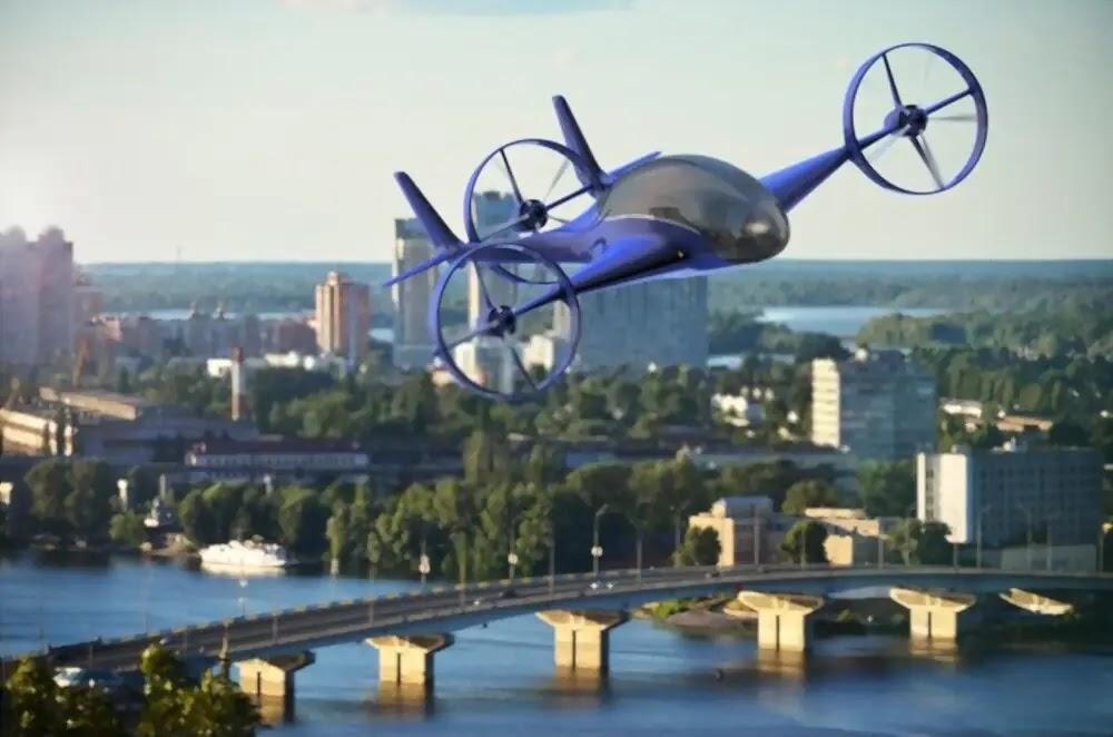 Mobil Terbang Produk Teknologi Modern