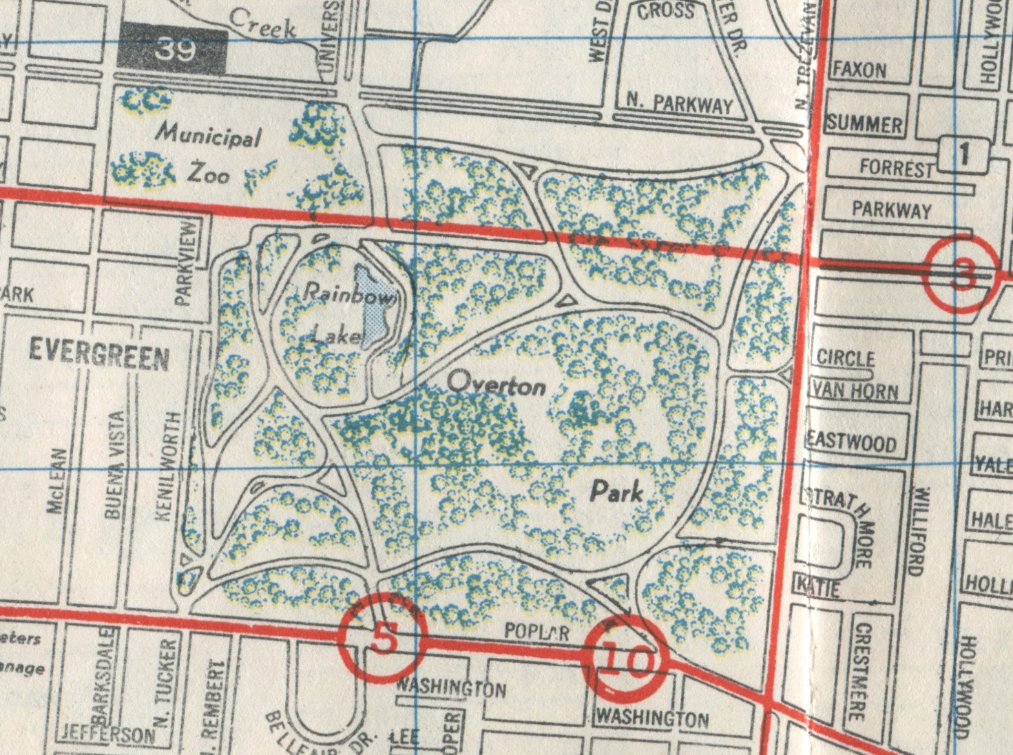 this map shows the bus route along galloway the bus route as shown on this 1954 memphis street railway map drawn by ashburn maps was route number 3
