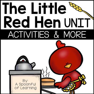The Little Red Hen Unit - Activities and more...