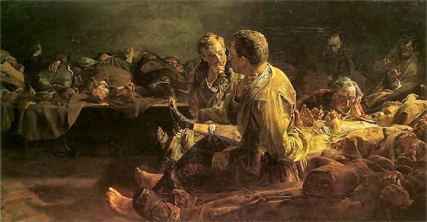 Śmierć na etapie - Jacek Malczewski
