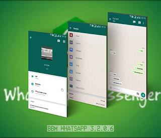 BBM MOD WhatsApp v3.2.0.6 Terbaru