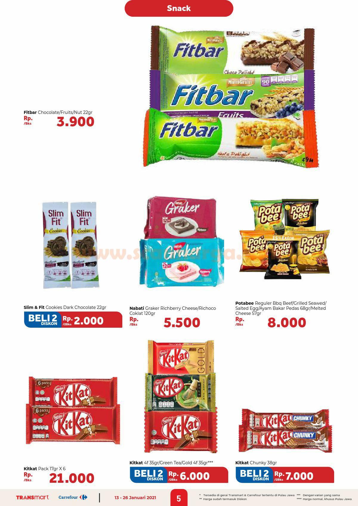 Katalog Promo Carrefour Transmart 13 - 26 Januari 2021 5