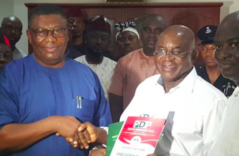 David Mark Buys PDP Presidential Nomination Form