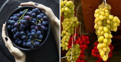 cara menyimpan buah anggur