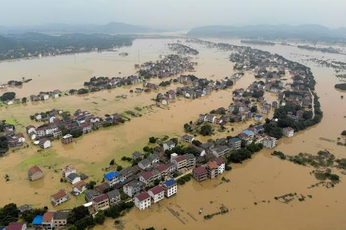 20 Juta Penduduk Tiongkok Terdampak Banjir, Keselamatan jadi Prioritas