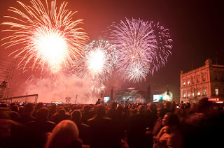 Fogo de Artificio no Terreiro do Paço 2018 - 2019