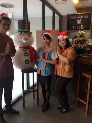 Ceriakan Natal Bersama Keluarga Hanya di BATIQA