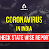 Coronavirus Cases  Update in India:  Check State Wise Report