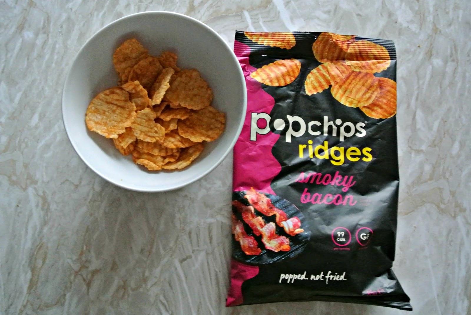 Popchips Ridges in Smoky Bacon Degustabox