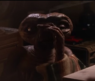 Rambaldi's creation, the Extra-Terrestrial E.T.