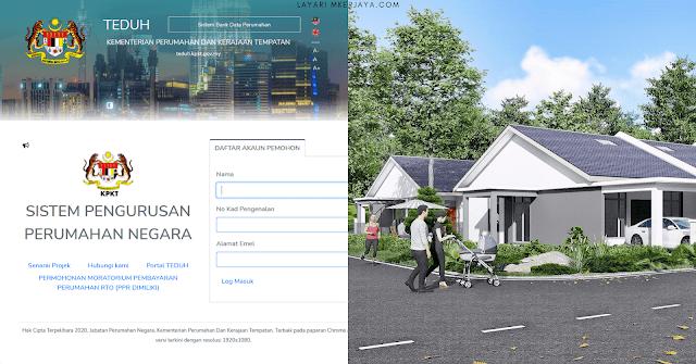 Panduan Permohonan Rumah Mampu Milik 2021 Bagi Golongan B40 Secara Online