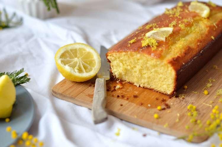 Cake Citron Noix De Coco Cerise Et Praline
