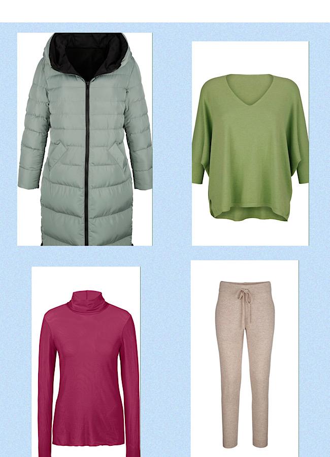 Herbstliche Kleidung optimale Farbwahl