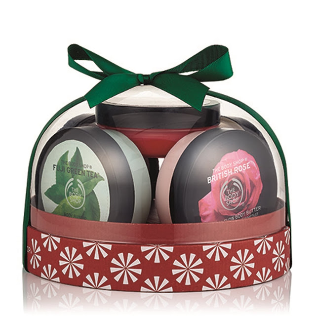 The Body Shop - GIFT BOX DOME BODY        BUTTERS_INR 2750-min