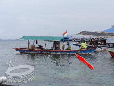 perahu pedagang