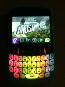 Membuat Keypad BB Blackberry Menjadi Berwarna