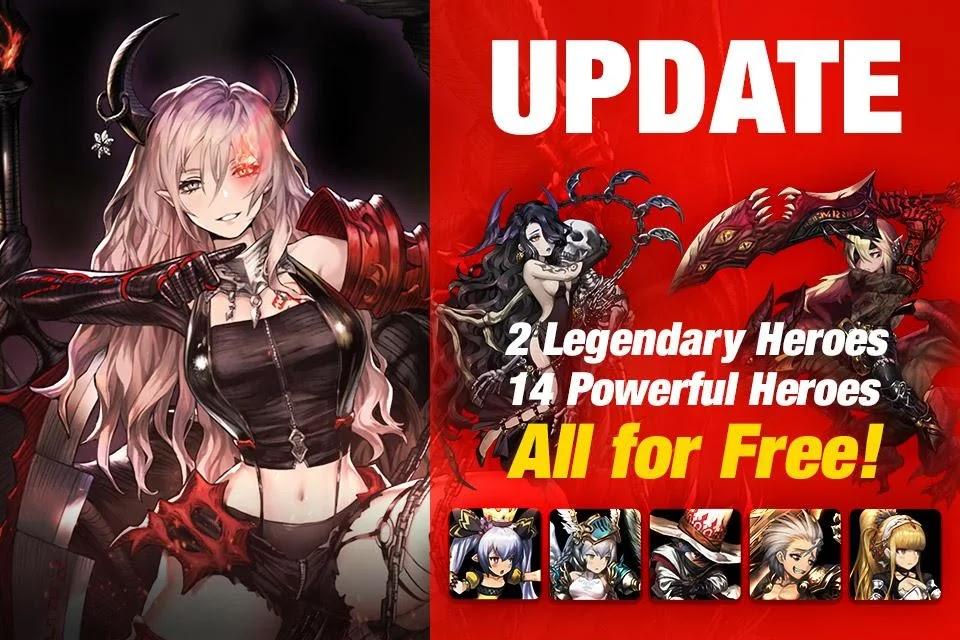 Game Brave Nine Tactical RPG V2.3.6 MOD Menu APK | Battle Speed & Repeat