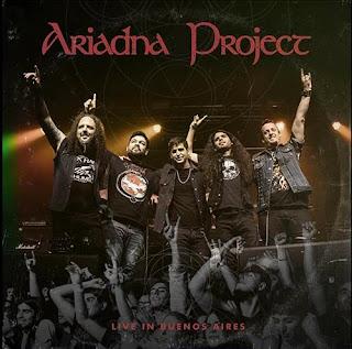 """Το ep των Ariadna Project """"Live in Buenos Aires"""""""