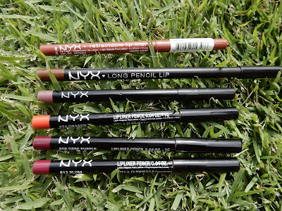 NYX Lip Liners www.modenmakeup.com