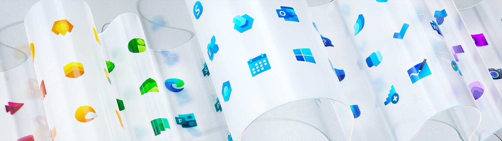 Tutte le nuove icone in distribuzione Windows 10 versione 1909