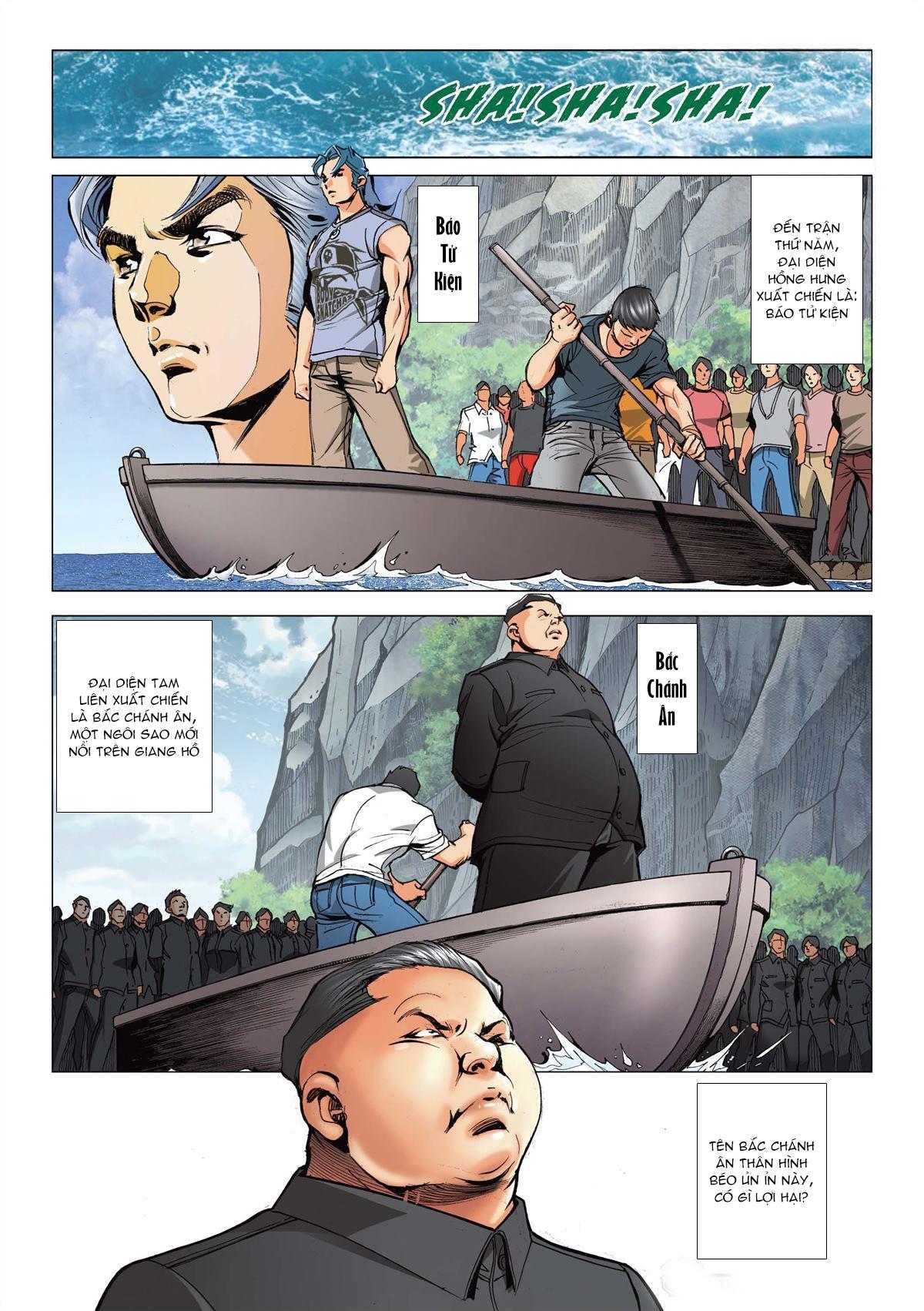 Người Trong Giang Hồ chapter 2146: có số không nói sớm trang 5