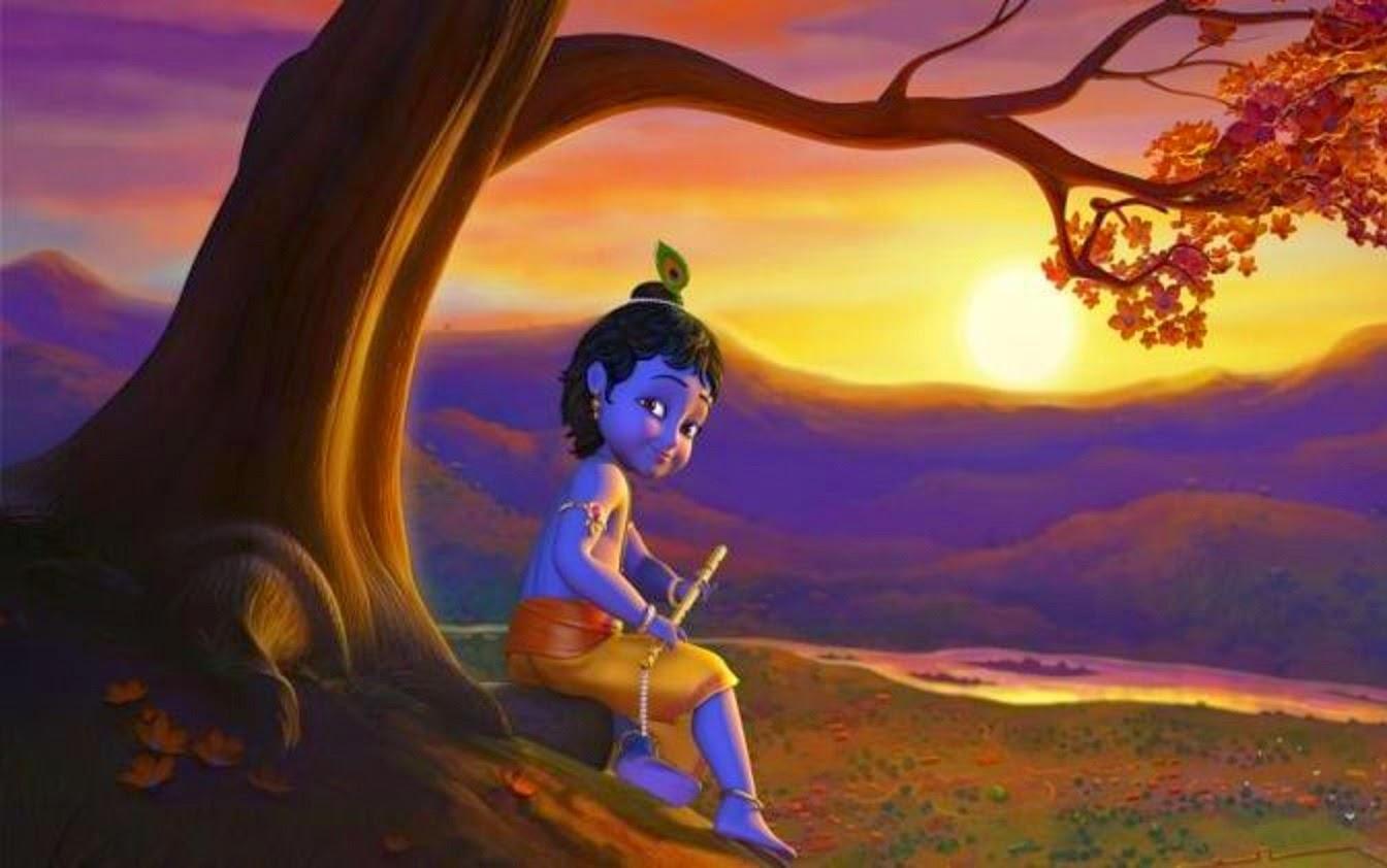 All 4u HD Wallpaper Free Download : Little Krishna ...