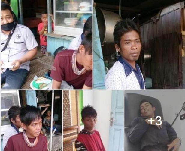 4 Orang Nelayan Selayar Diselamatkan Warga Sendana Di Perairan Majene Sulawesi Barat